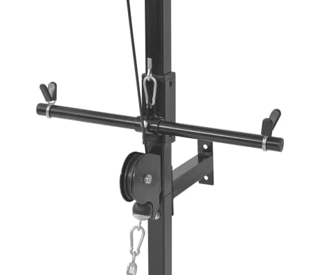 vidaXL Tour de musculation murale avec jeu d'haltères et poids 30,5 kg[5/9]