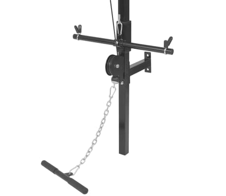 vidaXL Tour de musculation murale avec jeu d'haltères et poids 30,5 kg[6/9]