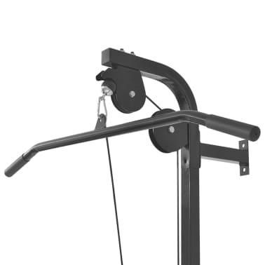 vidaXL Tour de musculation murale avec plaques de poids 40 kg[4/8]