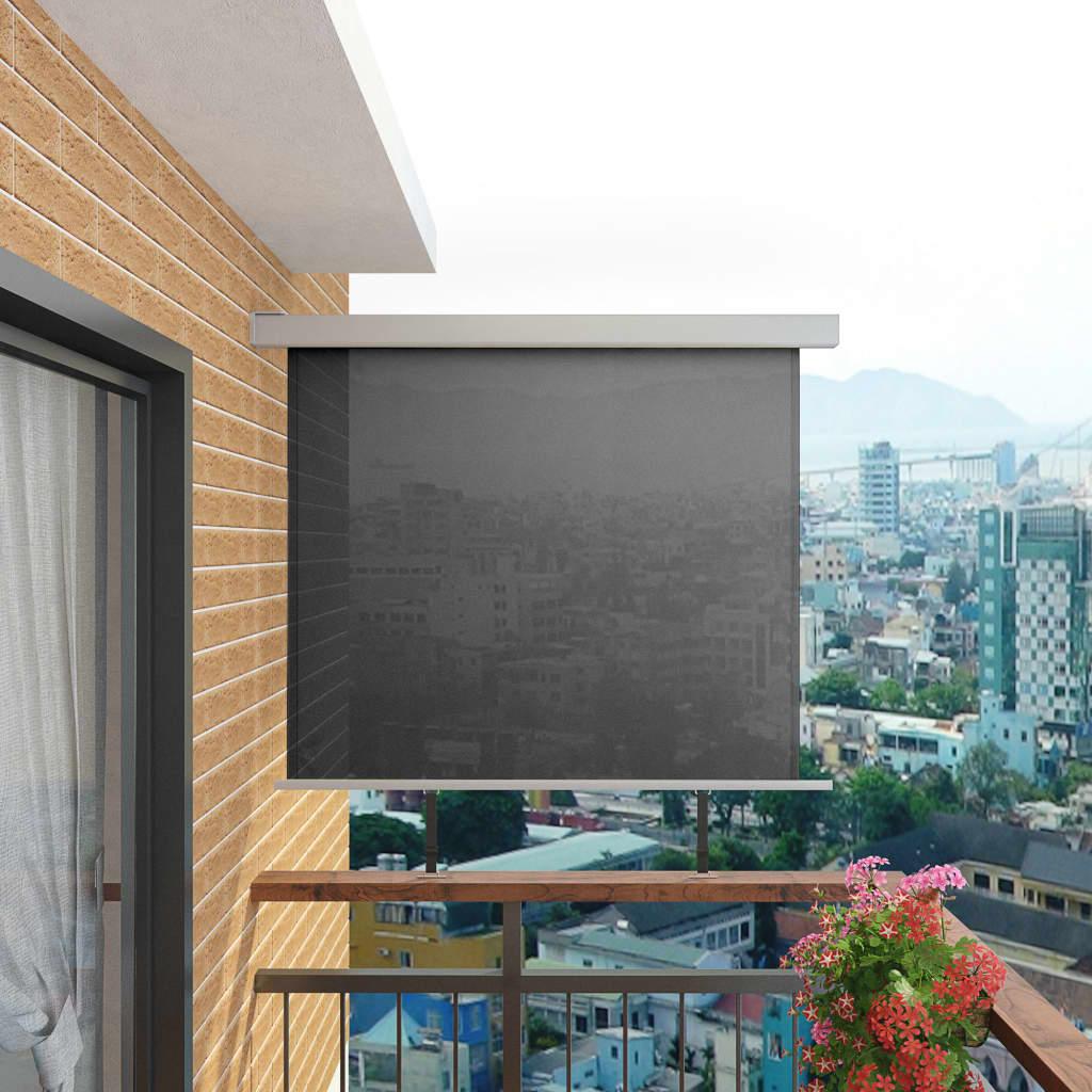 vidaXL Balkonová zástěna multifunkční 150 x 200 cm šedá