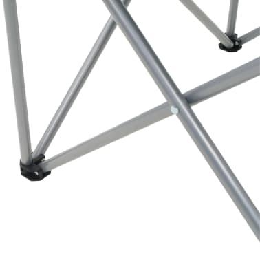 vidaXL Folding Camping Chairs 2 pcs 96x60x102 cm Green[11/12]