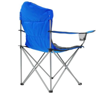 vidaXL Sillas plegables de camping 2 unidades 96x60x102 cm azul[7/12]
