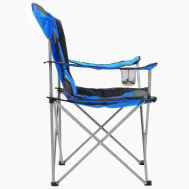vidaXL Sillas plegables de camping 2 unidades 96x60x102 cm azul[6/12]