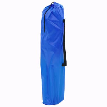 vidaXL Sillas plegables de camping 2 unidades 96x60x102 cm azul[8/12]