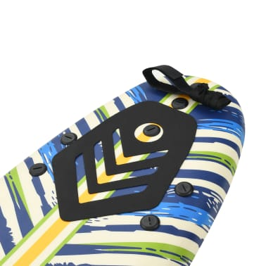vidaXL Surfboard 170 cm blad[7/7]