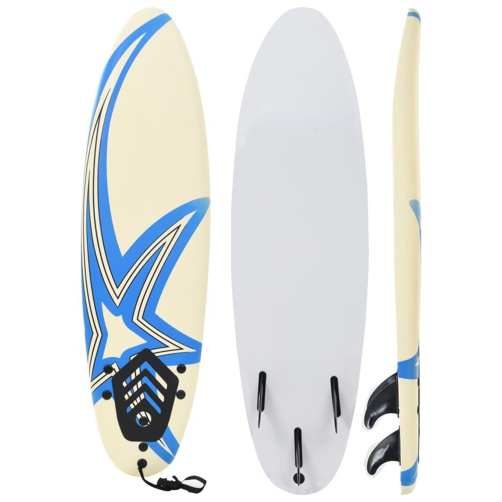 vidaXL Placă de surf, 170 cm, model stea imagine vidaxl.ro