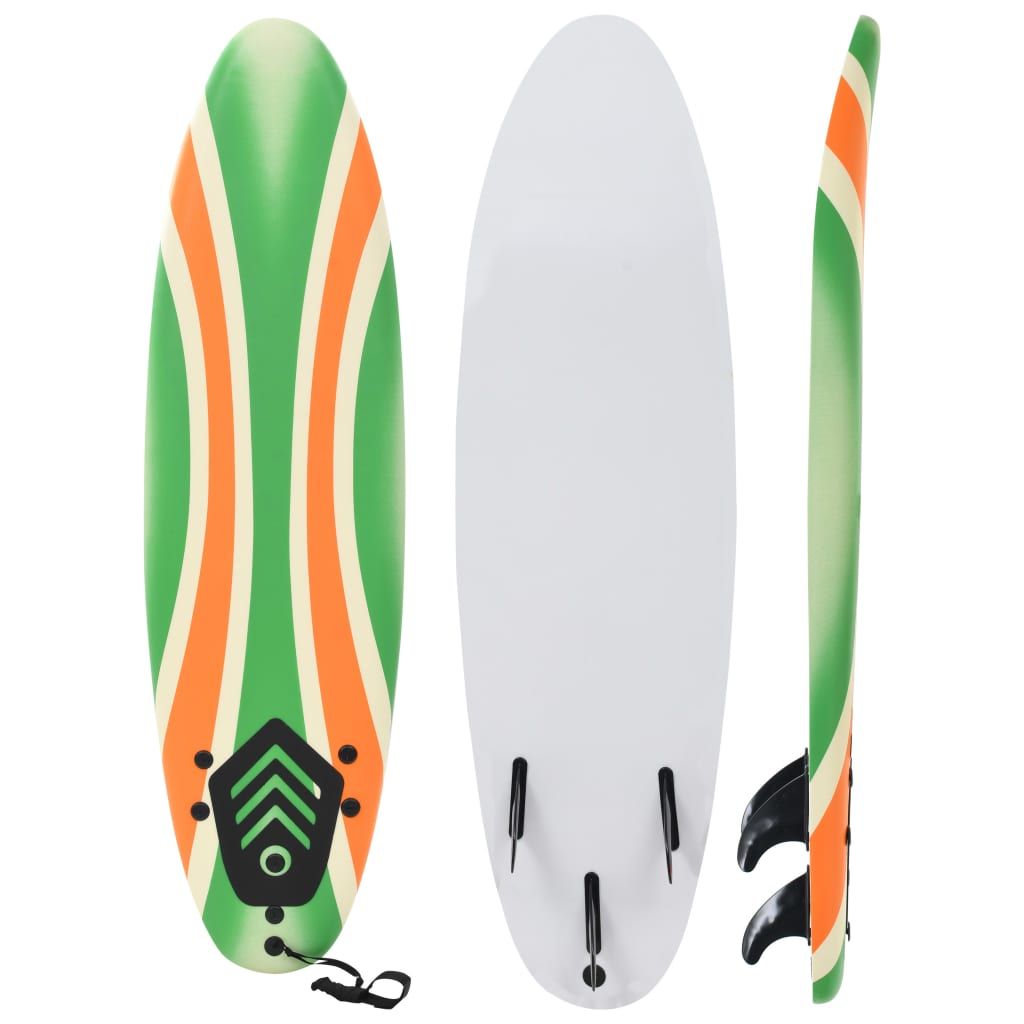 vidaXL Placă de surf, 170 cm, model bumerang imagine vidaxl.ro