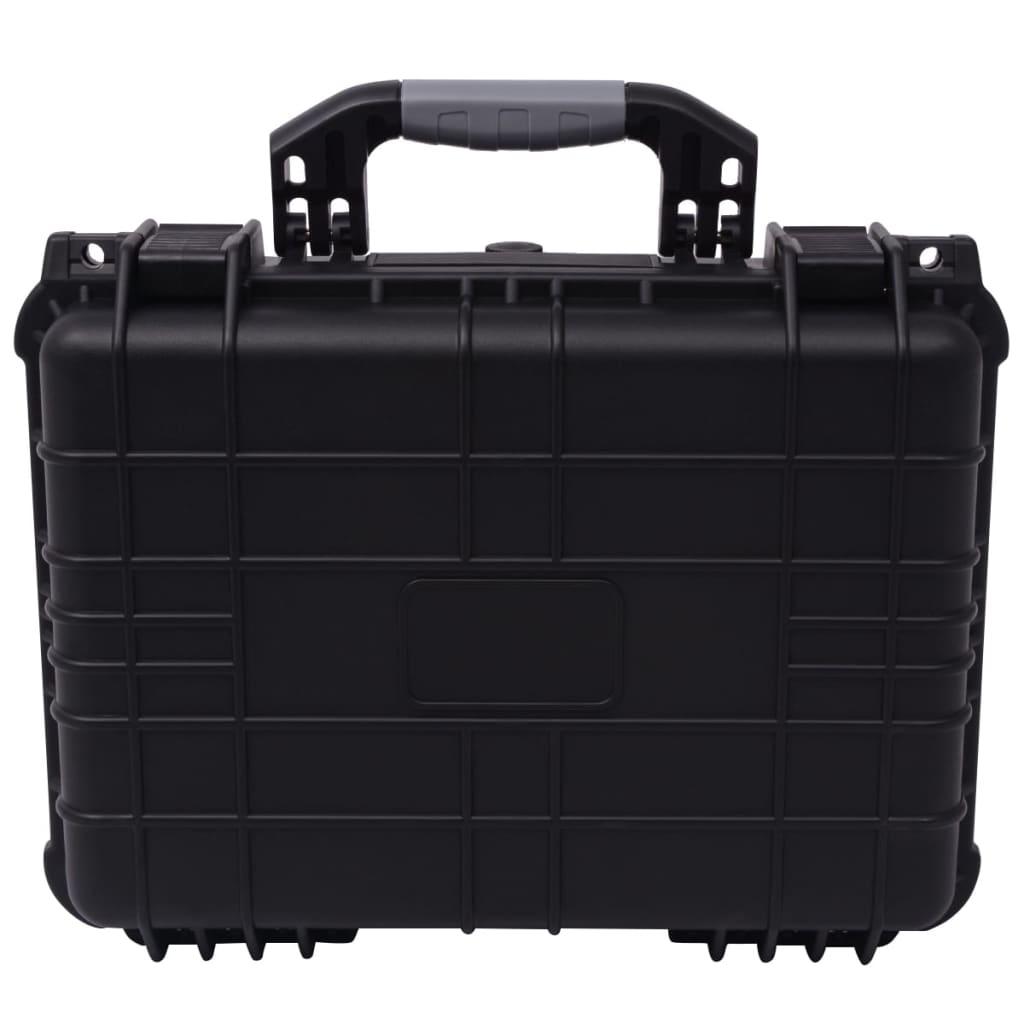Ochranný kufřík černý 40,6 x 33 x 17,4 cm