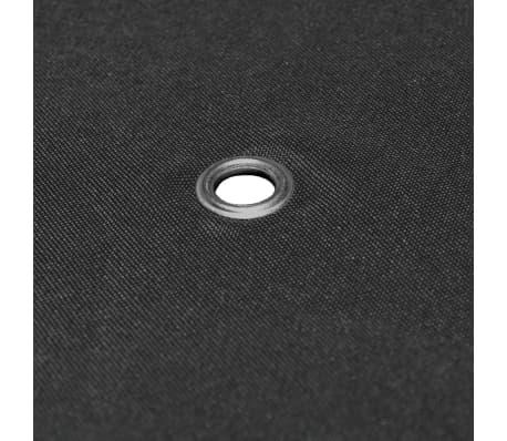 vidaXL 2 pakopų viršut. pavės. uždang., 310 g/m², 4x3m, antrac. sp.[5/5]