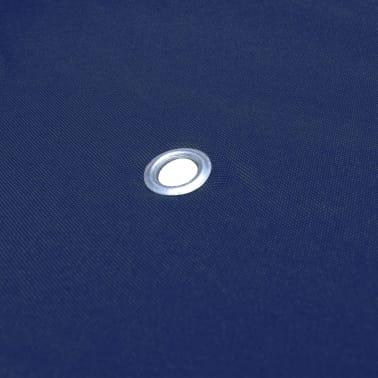 vidaXL Toile supérieure de belvédère 2 niveaux 310 g/m² 4x3 m Bleu[5/5]