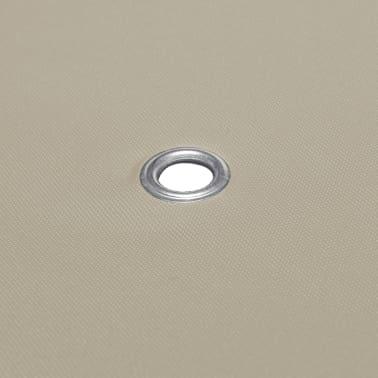 vidaXL Copertura Superiore per Gazebo 310 g/m² 3x3 m Marrone[5/5]