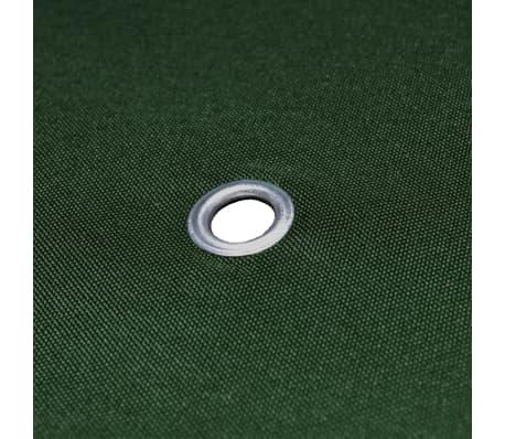 vidaXL Toile supérieure de belvédère 310 g / m² 3 x 3 m Vert[5/5]