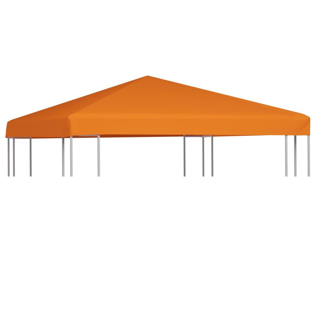 vidaXL Acoperiș de pavilion, 310 g/m², portocaliu, 3 x 3 m vidaxl.ro