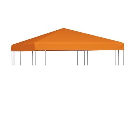 vidaXL Zadaszenie altany ogrodowej, 310 g/m², 3 x 3 m, pomarańczowe