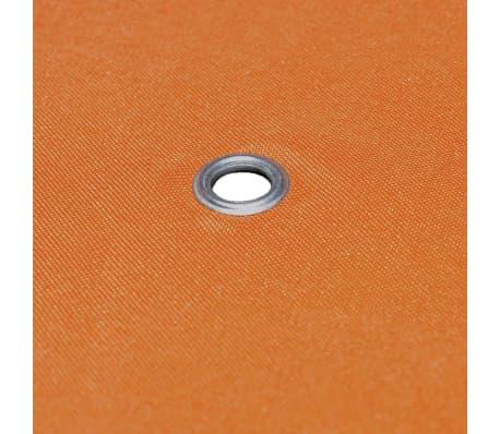 vidaXL Viršutinis pavėsinės uždangalas, 310 g/m², 3x3m, oranžinis[5/5]