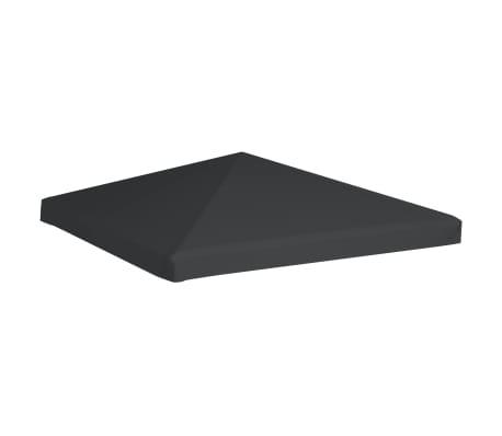 vidaXL Toile supérieure de gazebo 310 g / m² 3 x 3 m Gris[2/5]