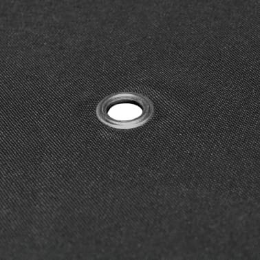 vidaXL Toile supérieure de gazebo 310 g / m² 3 x 3 m Gris[5/5]