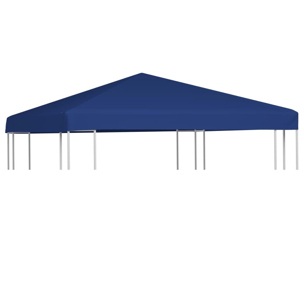 vidaXL Acoperiș de pavilion, 310 g/m², albastru, 3 x 3 m poza 2021 vidaXL