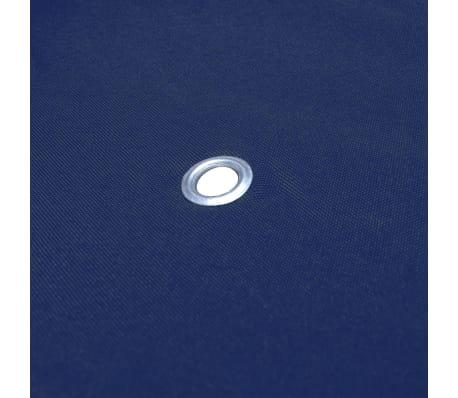 vidaXL Viršutinis pavėsinės uždangalas, 310 g/m², 3x3m, mėlynas[5/5]