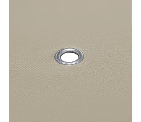 vidaXL Paviljongtak 310 g/m² 4x3 m brun[5/5]