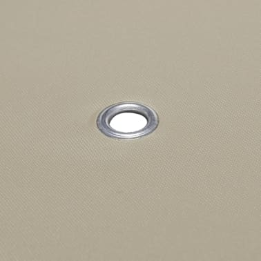 vidaXL Zadaszenie altany ogrodowej, 310 g/m², 4 x 3 m, brązowe[5/5]