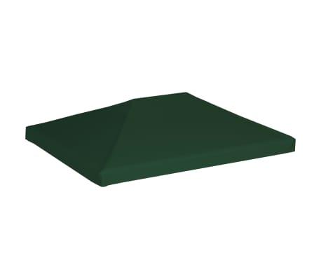 vidaXL Gazebo Top Cover 310 g/m² 4x3 m Green[2/5]