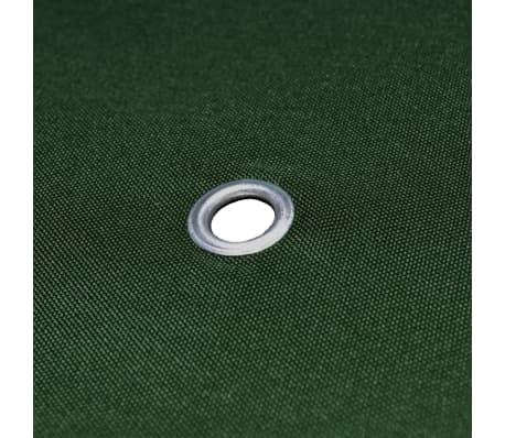 vidaXL Gazebo Top Cover 310 g/m² 4x3 m Green[5/5]