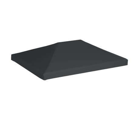 "vidaXL Gazebo Top Cover 0.68lb/m² 157.5""x118.1"" Gray[2/5]"