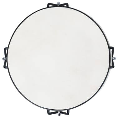 vidaXL Tambour djembé avec tension de tige 25 cm Cuir de chèvre[3/4]