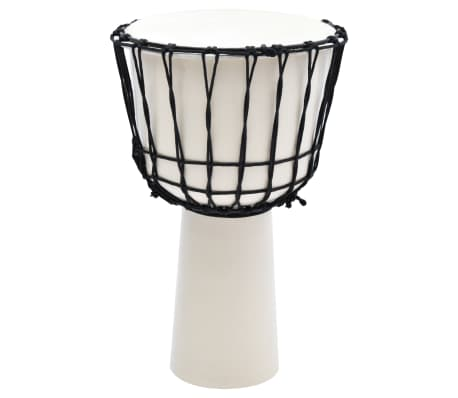 "vidaXL Djembe Drum with Rope Tension 12"" Goat Skin"