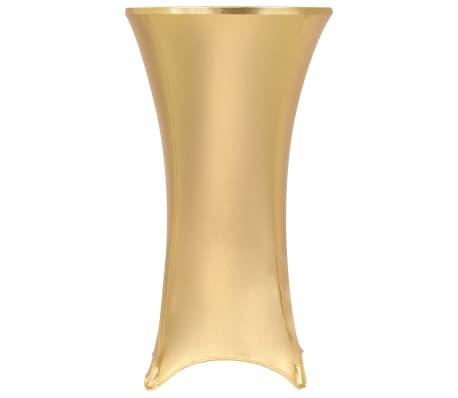 vidaXL 2 tk lauakatted, venivad, 80 cm, kuldne