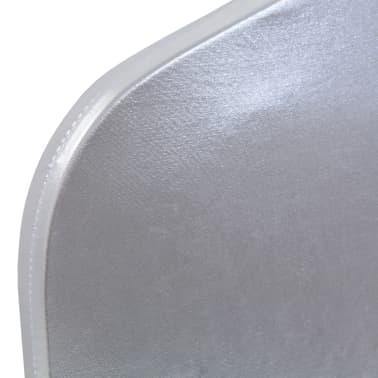 vidaXL Fundas de silla elásticas 6 unidades plateado[4/5]