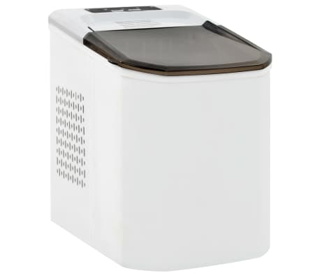 vidaXL Ledukų gaminimo aparatas, baltas, 1,4l, 15kg/24val[1/10]
