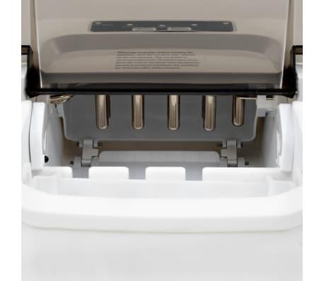 vidaXL Ledukų gaminimo aparatas, baltas, 1,4l, 15kg/24val[9/10]
