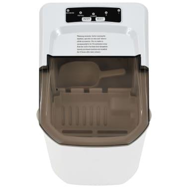 vidaXL Ledukų gaminimo aparatas, baltas, 1,4l, 15kg/24val[3/10]