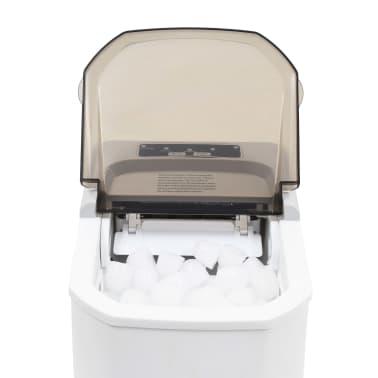 vidaXL Ledukų gaminimo aparatas, baltas, 1,4l, 15kg/24val[7/10]