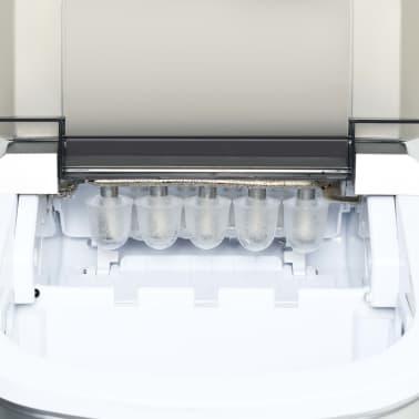 vidaXL Ledukų gaminimo aparatas, baltas, 1,4l, 15kg/24val[8/10]