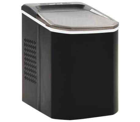 vidaXL Isbitmaskin 1,4 L 15 kg / 24 t svart