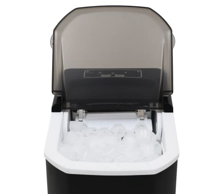 vidaXL Ledukų gaminimo aparatas, juodas, 1,4l, 15kg/24val[7/10]