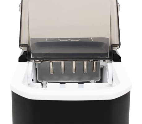 vidaXL Ledukų gaminimo aparatas, juodas, 1,4l, 15kg/24val[9/10]