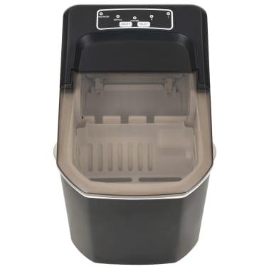 vidaXL Ledukų gaminimo aparatas, juodas, 1,4l, 15kg/24val[3/10]