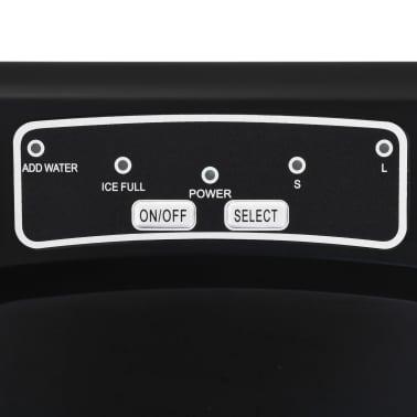 vidaXL Ledukų gaminimo aparatas, juodas, 1,4l, 15kg/24val[6/10]