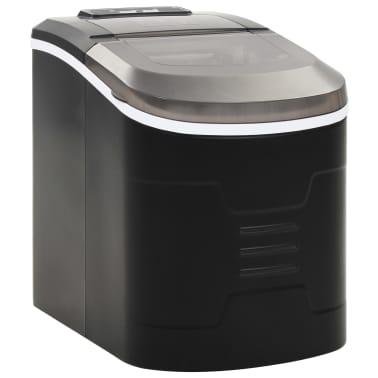 vidaXL Ledukų gaminimo aparatas, juodas, 2,4l, 15kg/24val[1/10]
