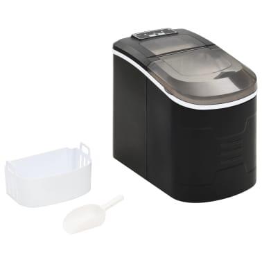 vidaXL Ledukų gaminimo aparatas, juodas, 2,4l, 15kg/24val[2/10]
