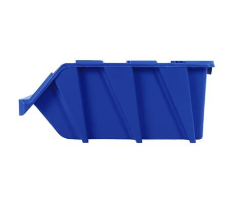 vidaXL Stapelbare Lagerboxen 20 Stk. 265 x 420 x 178 mm Blau[7/8]