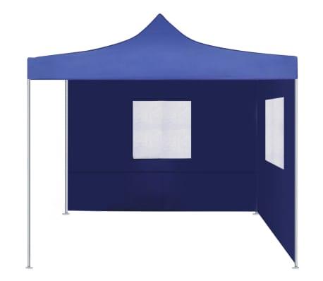 vidaXL Faltzelt mit 2 Wänden 3 x 3 m Blau[2/9]