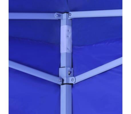 vidaXL Faltzelt mit 2 Wänden 3 x 3 m Blau[3/9]
