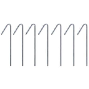 vidaXL Faltzelt mit 2 Wänden 3 x 3 m Blau[8/9]