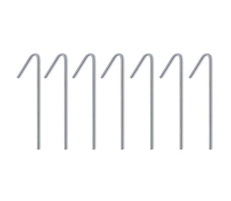 vidaXL Carpa pleglable Pop-up con 4 paredes 3x4,5 m gris antracita[7/11]