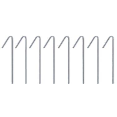 vidaXL Tente pliable avec 3 parois 3 x 4,5 m Crème[8/10]